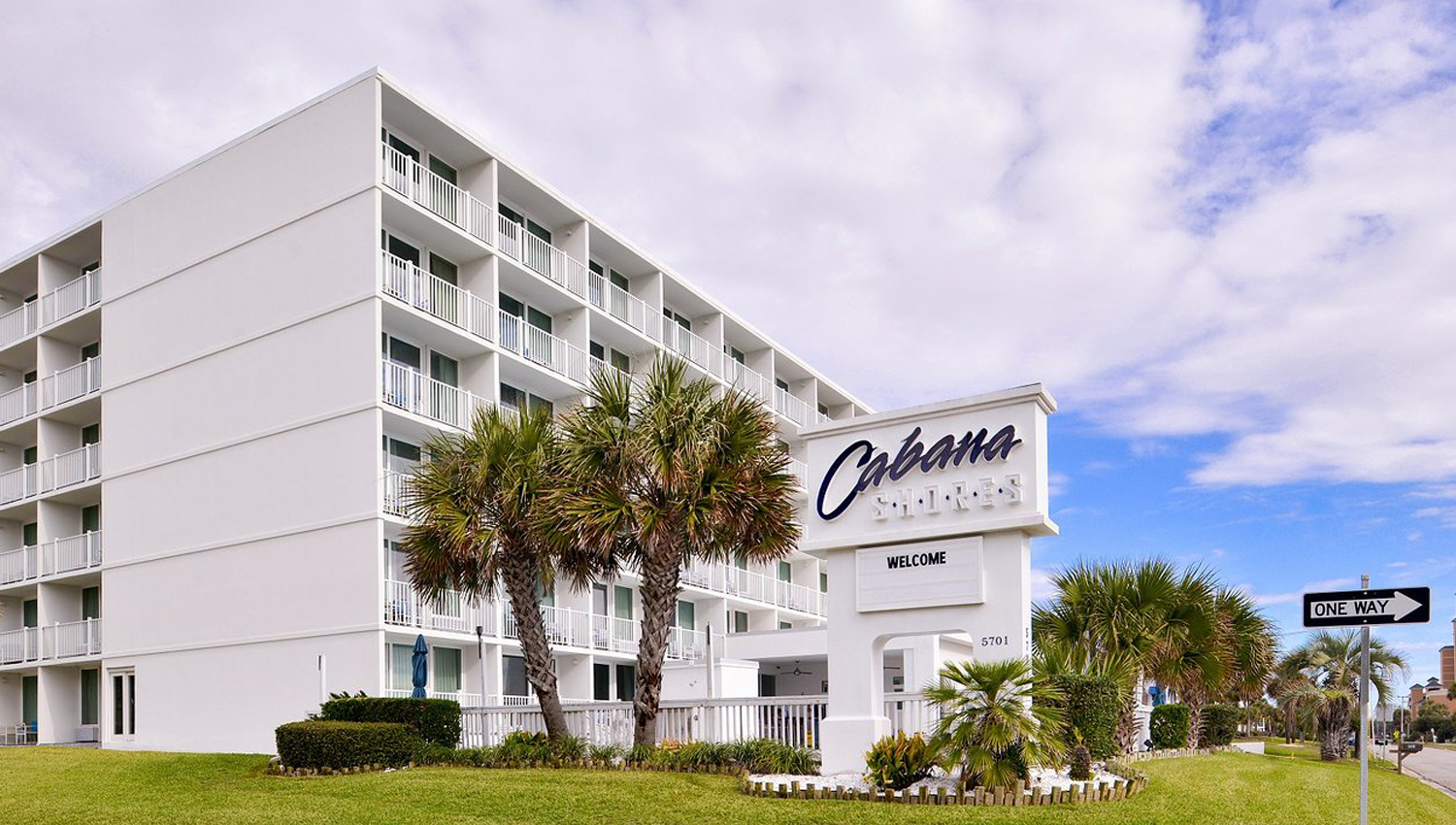 WELCOME TO CABANA SHORES HOTEL IN MYRTLE BEACH