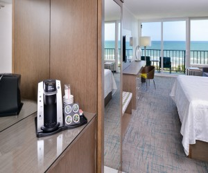 Cabana Shores Hotel - Singe Serve Coffee Makers in every room
